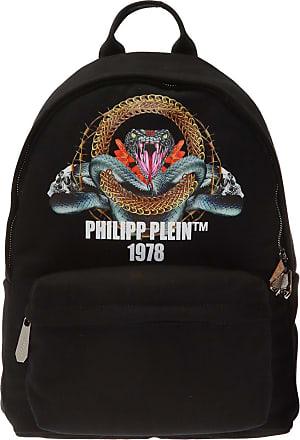Philipp Plein Printed Backpack Mens Black