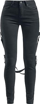 Rock Rebel by EMP Megan Women Jeans Black W28L32, 98% Cotton, 2% Elastane, Skinny