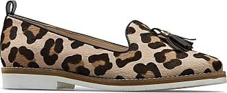 Van Dal Womens Scott Wide EE Fit Loafer Pumps, Rose Cheetah 3.5 UK