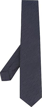 Kiton Gravata texturizada - Azul