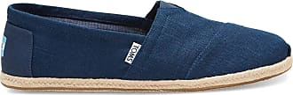 Toms Classics Navy Linen Rope Sole 47.5