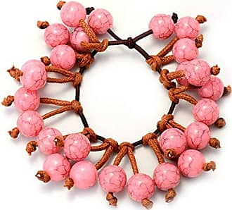 Tinna Jewelry Pulseira Perolada (Rosa)