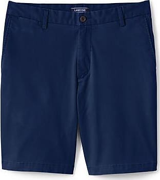 Lands End Chino-Bermudas mit Stretch für Herren, Classic Fit - Blau - 58 von Lands End