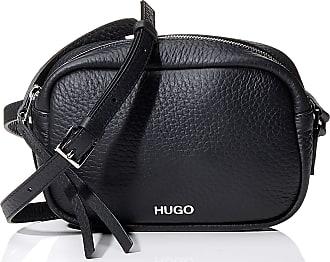 HUGO BOSS Downtown Crossb-s Womens Shoulder Bag, Black, 10x24x21 centimeters (B x H x T)