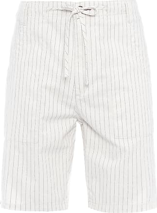 Richards BERMUDA MASCULINA MARINE - OFF WHITE