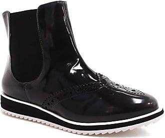 Zariff Bota Zariff Shoes Oxford Flatform Chelsea