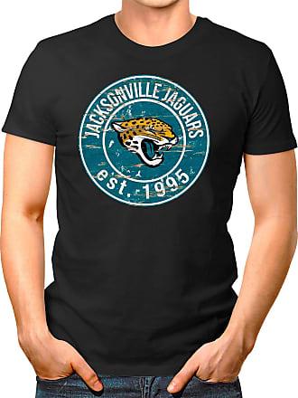 OM3 Jacksonville-Badge - T-Shirt | Mens | American Football Shirt | XXL, Black