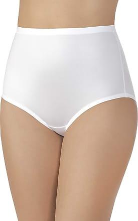 Vanity Fair Womens Body Caress Brief Panty 13138, Star White, XX-Large / 9