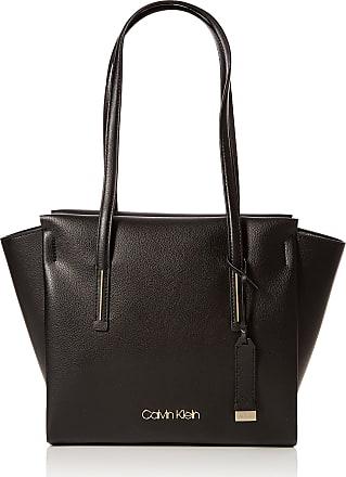 f01af45409 Calvin Klein Jeans Frame Medium Shopper, Womens Tote, Black, 14x30x44 cm (B
