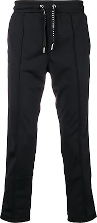 ac2f0b94a4f Les Hommes striped track pants - Black