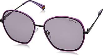 Polaroid Womens PLD 6113/S Sunglasses, Violet, 56