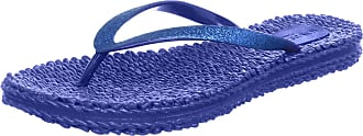 Ilse Jacobsen Womens Damen Glitzer Flip Flop, CHEERFUL01, Blue Blue, 6.5 UK