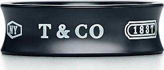 Tiffany & Co. Tiffany 1837 medium width ring in titanium - Size 4 1/2