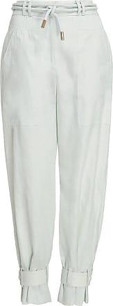 Zimmermann Calça Glassy Slouch Army Branca - Mulher - Branco - 1 AU