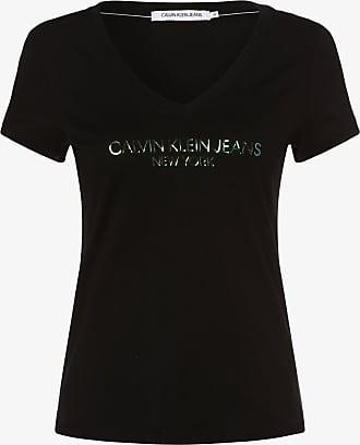 Calvin Klein Jeans Damen T-Shirt schwarz