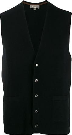 N.Peal The Chelsea Milano waistcoat - Black