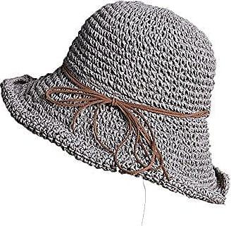 ROT Damen Sonnenhut Cap Sommerhut Sonnenschutz Hüt Strandhut Schlapphut Schal