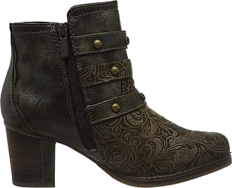 Mustang Womens 1286-504-77 Ankle Boots, Green (Oliv 77), 3.5 UK