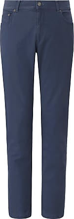 Brax Comfortable Fit trousers design Cooper Fancy Brax Feel Good blue