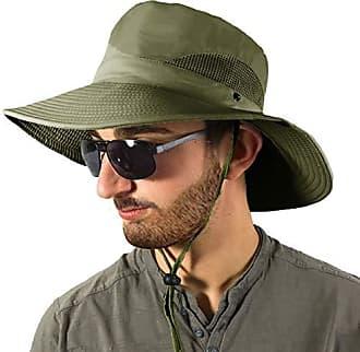 Kaki Safari Stroh Hut f/ür Herren Dorfman Pacific