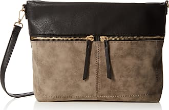 f2903b961bfe New Look Womens Helena Cross-Body Bag Grey (Grey)