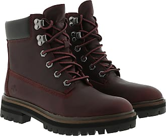 Timberland Boots & Booties - London Square Boot Dark Port - red - Boots & Booties for ladies