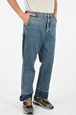 Loewe straight fit jeans FISHERMAN with Cuffed Hem 26 cm Größe 50
