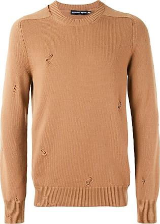 Alexander McQueen distressed jumper - Neutrals