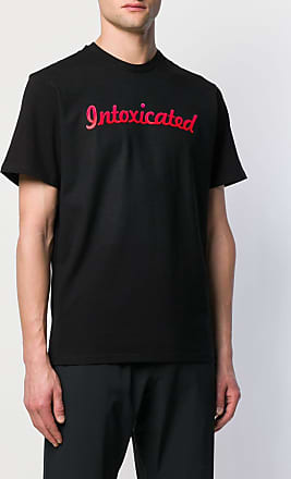 Intoxicated Camiseta decote careca com logo - Preto