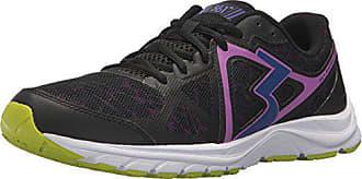 361° Womens 361-RAMBLER Running Shoe, Black/Crush, 10 M US