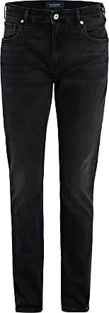 Scotch & Soda Jeans SKIM Super Slim Fit - 2570 BLACK OUT