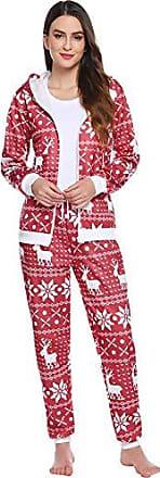 weihnachts schlafanzug damen