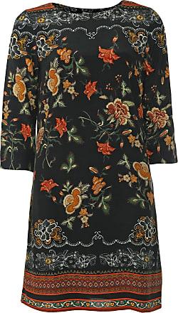 Desigual Vestido Desigual Curto Praga Preto/Laranja