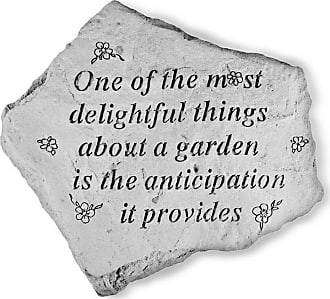 Kay Berry One Of The Most Delightful Things Garden Accent Stone - 64820