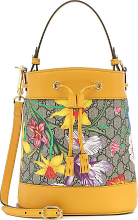 Gucci Ophidia GG Flora Small bucket bag