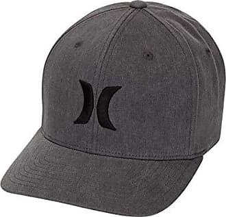 414e3122fa4 Hurley Mens Black Textures Baseball Cap
