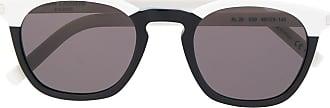 Saint Laurent Eyewear Óculos de sol quadrado - Branco