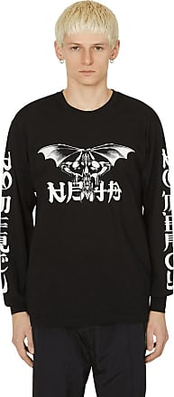 NEIGHBORHOOD Neighborhood No mercy long sleeve t-shirt BLACK/WHITE S