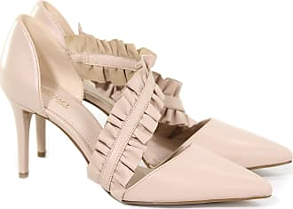 Michael Kors DÉCOLLETÉ BELLA PUMP IN PELLE CON ROUCHES 16 colore ROSA da264f489bf