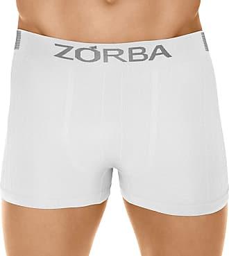 Zorba Cueca Boxer Seamless Trendy, Zorba, Masculino, Branco, GG