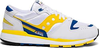 Saucony Azura Men 9 M UK Yellow | Blue