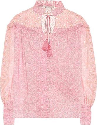 Jonathan Simkhai Floral cotton blouse