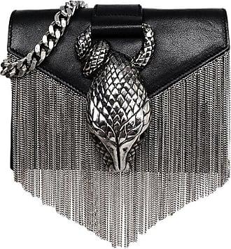 86cf8ce5316a 1stdibs Saint Laurent Black Leather Snake Fringe Mini Crossbody Bag Rt   1