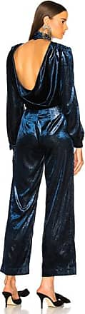 Raquel Diniz Isabella Jumpsuit in Blue,Metallics