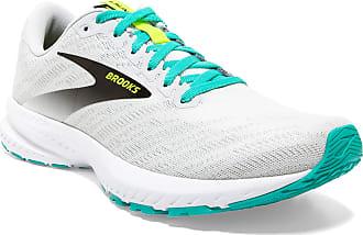 Brooks Womens Launch 7 Running Shoe, White Nightlife Atlantis, 5.5 UK
