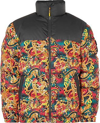 The North Face 1992 Nuptse Printed Quilted Shell Down Jacket - Yellow