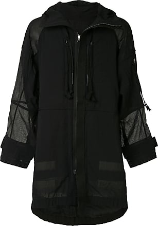 Ziggy Chen oversized hooded jacket - 4