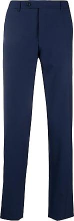 Canali Calça chino slim - Azul
