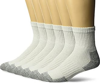Cushioned Durable 10 Pack Wicking Fruit of the Loom Mens Cotton Work Gear Tube Socks