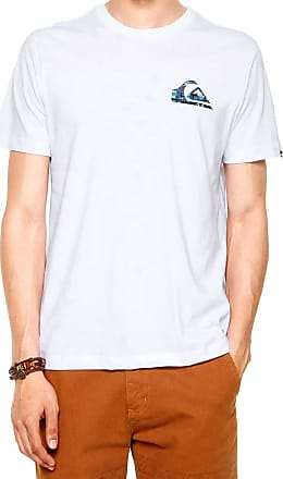 Quiksilver Camiseta Quiksilver Recycled Dot Masculina - Branca - M